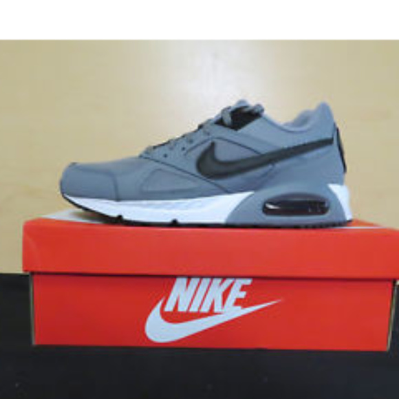 950fcd9ef407 Nike Air Max IVO Running Shoes Cool Grey NEW BLACK